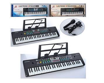 Дитяче піаніно-синтезатор для дитини від 3-х років дитячий Іграшковий синтезатор з мікрофоном 61 клавіша