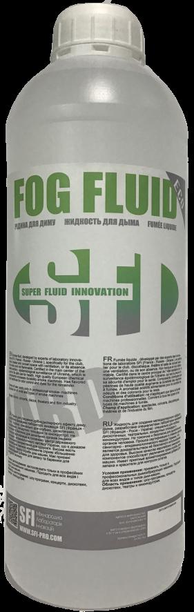 Жидкость для генератора дыма Тяжелая SFI Fog Eco Hard 1л. Жидкость для дым машины