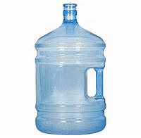 Бутыль для воды 19 л с ручкой Поликарбонат с пробкой, фото 1
