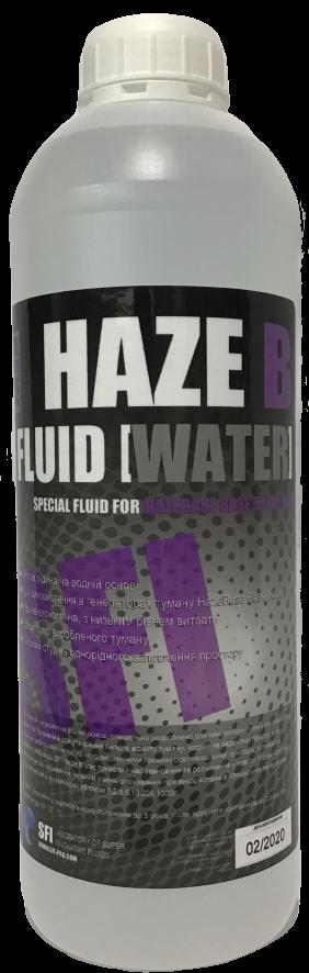 """Рідина для генераторів туману Haze """"B"""" Fluid Water 1л"""