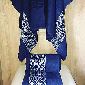 Махровые пляжные полотенца Anchor