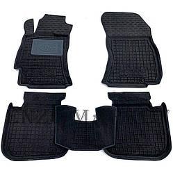 Гібридні килимки в салон Subaru Outback/Legacy 2010- (AVTO-Gumm)