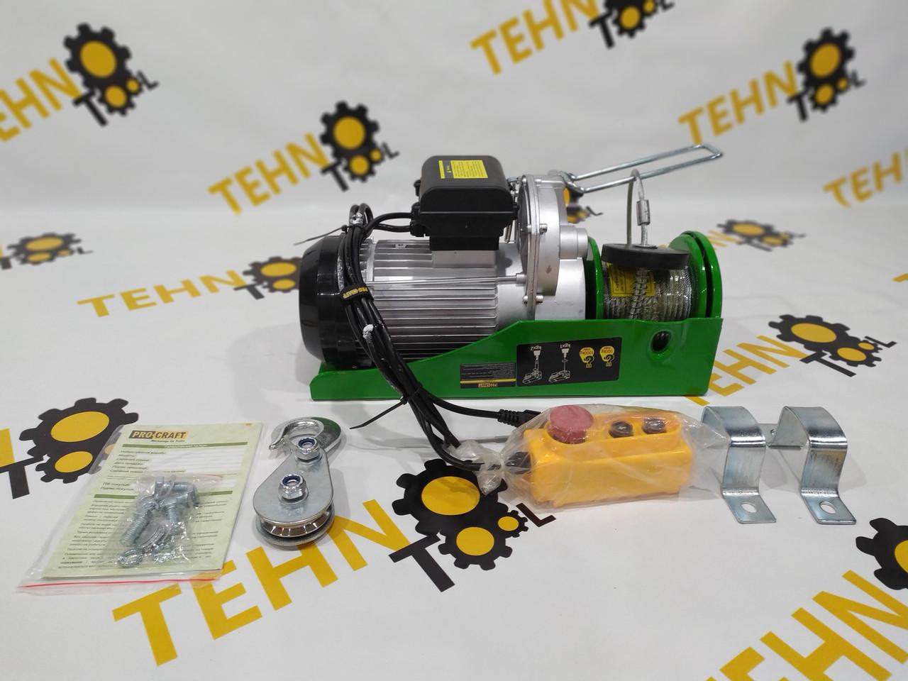 Тельфер Procraft TP-1000