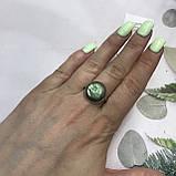 Лабрадор кільце коло з натуральним лабрадором в сріблі кільце з лабрадором кільце лабрадор 19,3 розмір Індія, фото 3