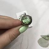 Лабрадор кільце коло з натуральним лабрадором в сріблі кільце з лабрадором кільце лабрадор 19,3 розмір Індія, фото 2