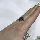 Лабрадор кільце коло з натуральним лабрадором в сріблі кільце з лабрадором кільце лабрадор 19,3 розмір Індія, фото 4