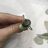 Лабрадор кільце коло з натуральним лабрадором в сріблі кільце з лабрадором кільце лабрадор 19,3 розмір Індія, фото 6