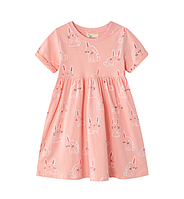 Детское платье Зайка 92, 98, 104, 110, 116, 122