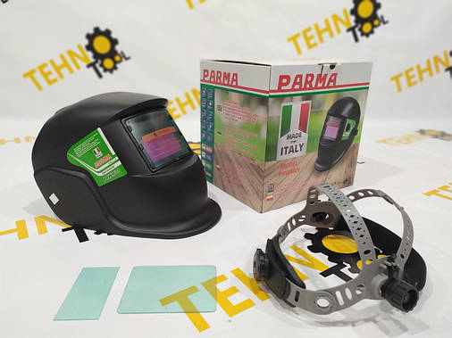 Зварювальна маска хамелеон Parma (3 регулятора), фото 2