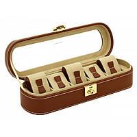 Шкатулка для зберігання годин Friedrich Lederwaren Cordoba 5, коричнева