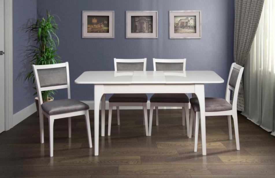 Кухонный комплект -Фиеста. Стол раздвижной, 4 стула.