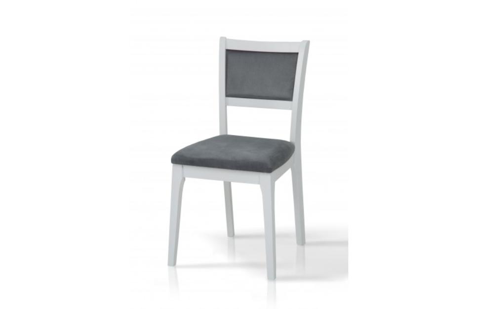 Классический обеденный стул из массива дерева -Фиеста (белый)