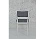 Классический обеденный стул из массива дерева -Фиеста (белый), фото 2