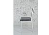Классический обеденный стул из массива дерева -Фиеста (белый), фото 3