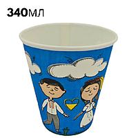 Стакан під холодні напої 340 мл Наше українське (50 шт)