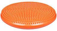 Балансировочная подушка LiveUp 36 см Orange (LS3226)