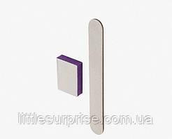 Одноразовый комплект  Enjoy №2 (баф 120/180 , пилочка 120/180 апельсиновая палочка)