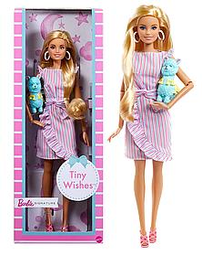 Коллекционная кукла Барби Поздравление с рождением малыша Barbie Tiny Wishes GNC35