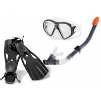 Набор для плавания от 14 лет (трубка, очки, ласты) Intex 55657