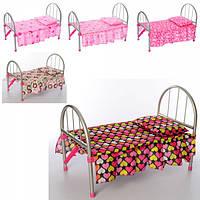 Игрушечная кроватка Melobo 9342  для куклы 45-32-25 см, подушка, микс видов, в кульке Т