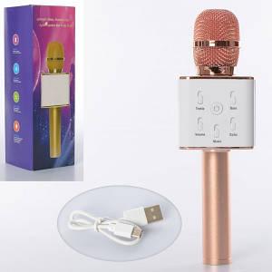Караоке мікрофон ББ Q7-rosegold 25 см