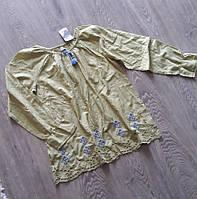 Блуза с вышивкой  для девочки в свободном стиле  11/12 лет , Next