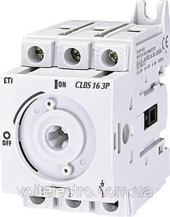Вимикач навантаження CLBS 16 3P