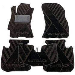 Текстильні килимки в салон Subaru Outback 2010- (AVTO-Tex)