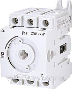 Вимикач навантаження CLBS 25 3P
