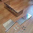 Гребінка-трансформер для укладання плитки 8*8мм, нержавіюча сталь, фото 2