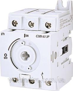 Вимикач навантаження CLBS 80 3P