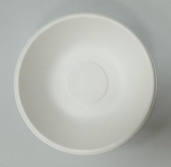 Тарелка бумажная круглая 680мл белая