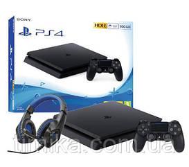 Sony PlayStation 4 Slim 500GB + słuchawki Trust GXT 404G Rana