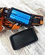 Акумуляторний багатофункціональний налобний ліхтар X-Balog BL-2199-T6. Потужний світлодіодний ліхтарик., фото 4
