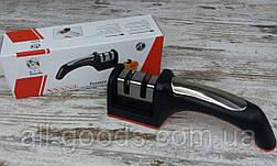Набор кухонных ножей Bass 5 шт в комплекте с ручной точилкой для ножей Household Knife Sharpener, фото 2
