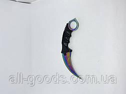 Нож керамбит 19см К-139 Karambit Карамбит зверь hyper beast Нож из игры CS:GO Нож коготь, фото 2