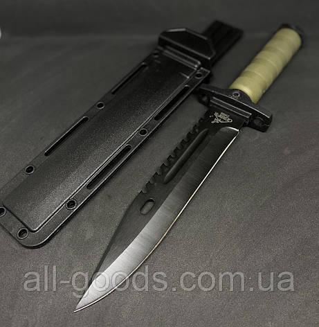 Тактичний ніж 2358В Бойовий і тактичний ніж Мисливський ніж Ножі для полювання, риболовлі та туризму, фото 2