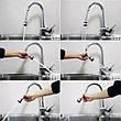 Насадка на кран для экономии воды Насадка на смеситель Насадка на кран экономная Водосберегающая насадка, фото 5