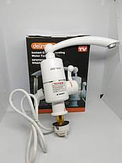 Проточний водонагрівач проточний водонагрівач електричний проточний водонагрівач кран для дачі, фото 2