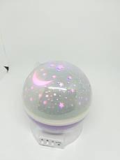 Дитячий нічник Нічник лампа Нічник-проектор Дитячий світильник, нічник Оригінальний нічник Світлодіодний, фото 2