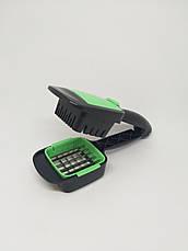 Ручная овощерезка Найсер Дайсер NICER DICER QUICK 5 в 1. Измельчитель для овощей. Многофункциональная терка., фото 2