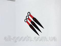 Набір метальних ножів Метальний ніж Ножі для метання Професійні метальні ножі 3шт АК-345 15 см, фото 2