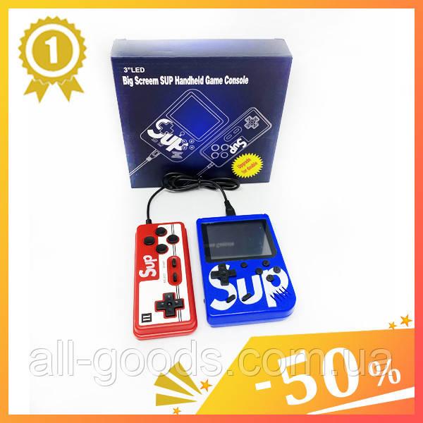 Ігрова приставка Game Box sup 400 ігор з джойстиком. Ігрова консоль ретро 8 біт 8bit Денді Dendy Сега SEGA.