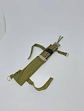 Ніж метальний 22 см АХ-320. Тактичний ніж для метання з чохлом. Ніж для полювання, риболовлі та туризму., фото 3