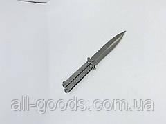 Ніж метелик або балісонг GERBFR 22.5 см АК-52 Ніж-метелик. Зручний складаний ніж. Ніж з кс го cs go., фото 2