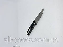 Ніж викидний 20 см D-888. Ніж складаний з запобіжником. Універсальний ніж для полювання, риболовлі та туризму, фото 2