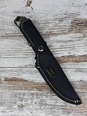 Охотничий нож 21,5СМ COLUMBIA К-610 / АК-20. Нож для охоты, рыбалки и туризма. Нож для выживания в чехле., фото 2