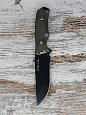 Охотничий нож 21,5СМ COLUMBIA К-610 / АК-20. Нож для охоты, рыбалки и туризма. Нож для выживания в чехле., фото 3