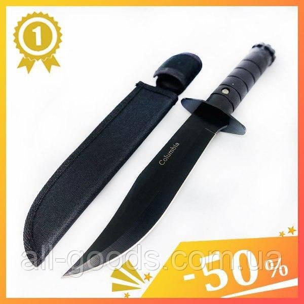 Тактичний ніж Columbia Н-120. Ніж для полювання, риболовлі та туризму. Мисливський ніж. Ніж для вижіванія.Нож