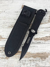Метальний ніж Ніж для метання Професійний метальний Ножі для полювання риболовлі туризму АК-338 з чохлом, фото 3